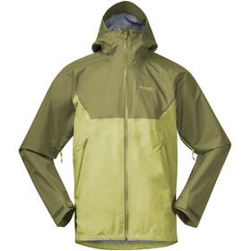 Bergans Letto V2 3L Jacket Men green oasis/dark green oasis